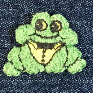 Small frog patch